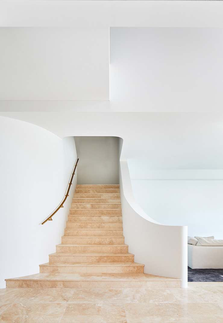 Hawthorne House Stairway